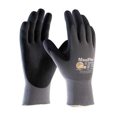 MaxiFlex 34-874 Ultimate Nitrile-Coated Glove (Size-XL/6 Pack)