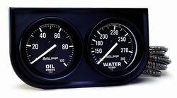 Auto Meter 2392 2IN BLK MECH GAUGE PNL