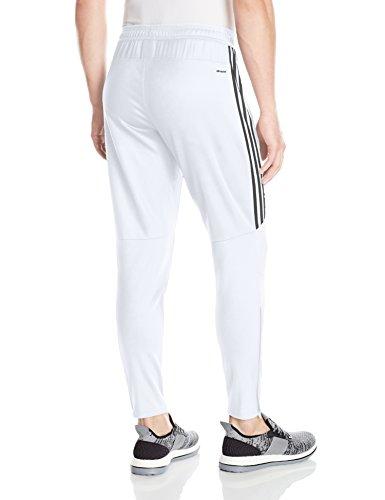 adidas Men's Soccer Tiro 17 Pants, Medium, White/Black