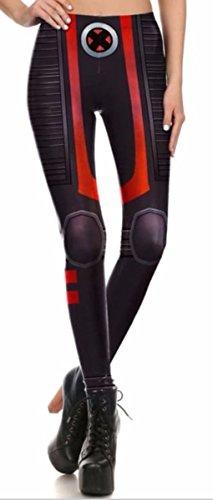 Xmen Suit (X-Men Suit Up Yoga Pants One Size Fits Most Novelty Leggings)