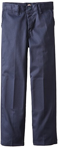 Dickies Khaki Big Boys' Flex Waist Stretch Pant, Dark Navy, 10 Regular (Dennis School Uniforms)