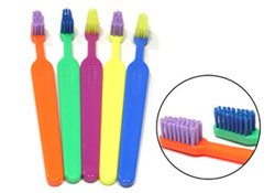READYBRUSH JR. Toothbrushes Prepasted with DUBBLE BUBBLE flavor CS of 144 Brushes