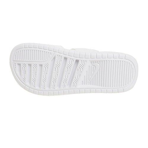 Benassi Ultra Pour Duo Mtallis Femme Nike 100 Argent Chaussures Slide blanc Blanc Wmns SwqxgH