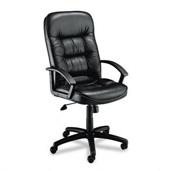Safco Serenity High Back Executive Chair - Black Part No. 3470BL
