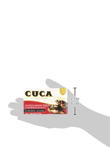 '' Cuca'' Stuffed Whole Squid (Calamares) in Ink Sauce 4 Oz (Canned) by Cuca (Image #5)