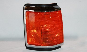FORD SPORT UTILITIES BRONCO (FULL SIZE) S/M/LAMP RIGHT (PASSENGER SIDE)(CHR TRIM) 1987-1991