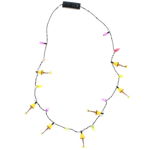 Kurt Adler A Christmas Story Led Leg Lamp Necklace. Uses 2