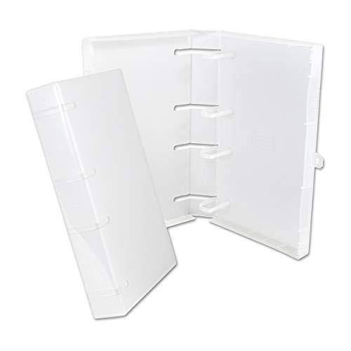 Empty UniKeep 40 Disc Case (Clear) - Box of 10 Cases