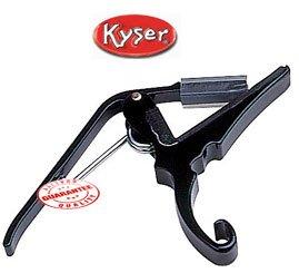 Kyser KG6B 6 String Capo, Black