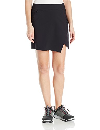 Columbia Women's Back Beauty Skort, Black, L by Columbia