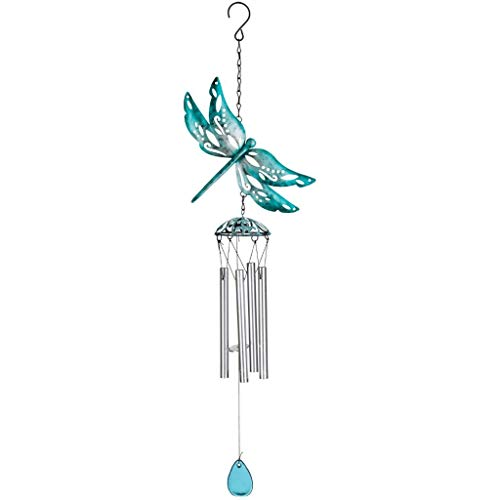 Dragonfly Wind Chimes (Regal Art & Gift 12094 Capri Dragonfly Wind Chime,)
