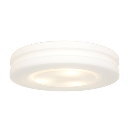 - Access Lighting 50189-WH/OPL Altum OPL Glass Flush Mount with Opal Glass Shade, White Finish
