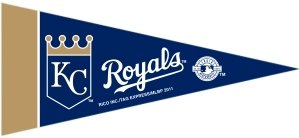 Kansas City Royals 8 Piece Mini Pennant -