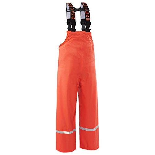 Grundens Zenith 117 Kid's Bibs, Orange, Size 10