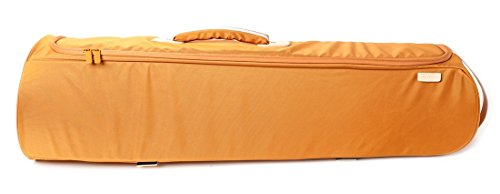Curtis Bags Trombone Insulation Hybrid Bags With Hard Shell Tenor Gold by Curtis Bags
