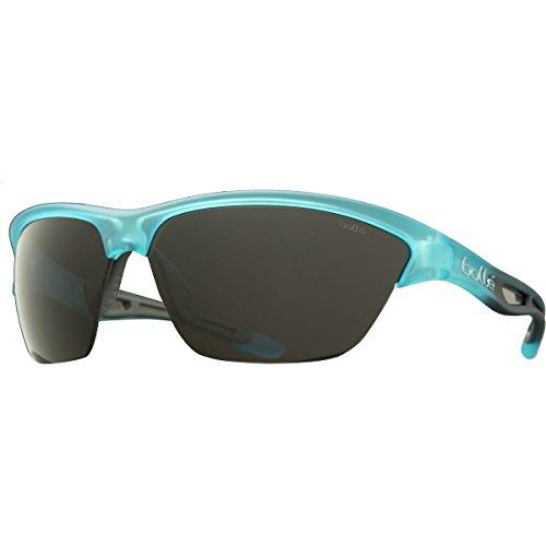 Bolle Helix Sunglasses Satin Crystal Blue/TNS 8 Base, One - Helix Sunglasses Bolle