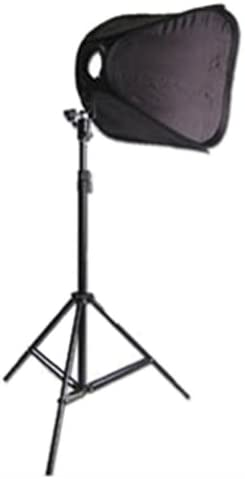 CowboyStudio Single Strobist Speedlite Flash Mount Softbox Photo Lighting Kit with Light Stand