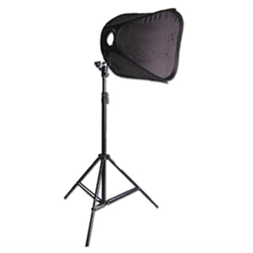 - CowboyStudio Single Strobist Speedlite Flash Mount Softbox Photo Lighting Kit with Light Stand