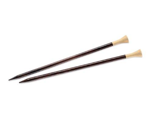 Lantern Moon Single Point Ebony 14' Rosewood Knitting Needles