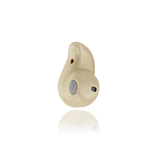 Gearonic AV10249-Beige-Ear Mini Wireless Bluetooth 4.0 Stereo in-Ear Headset Earphone Earbud Earpiece - Beige by Gearonic