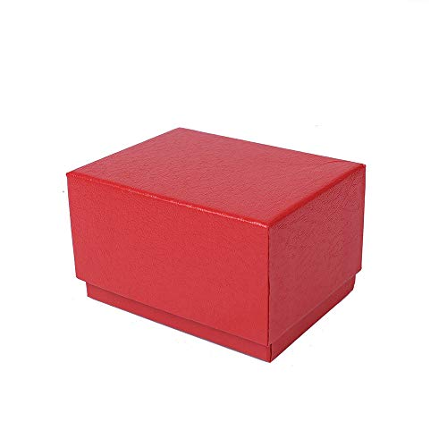 (Wffo Watch Jewelry Present Gift Box, Delicate Paper Cardboard Bangle Bracelet Wrist Watch Jewelry Present Gift Box (Red))