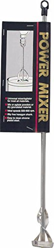 Power Mixer - Metal Tip 17'' Shaft 1 to 5 Gallon