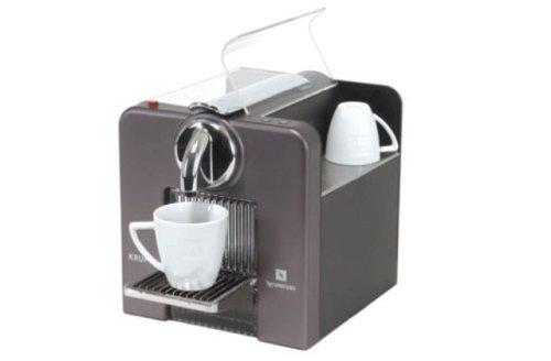 Krups Nespresso Le Cube titanio cafetera Nespresso titanio ...
