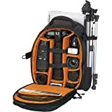amazing world Professional backpack DSLRcamera notebook laptop mobile tripod bag 17' in built Rain cover