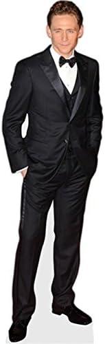 Pappaufsteller lebensgross Black Jacket Tom Hiddleston