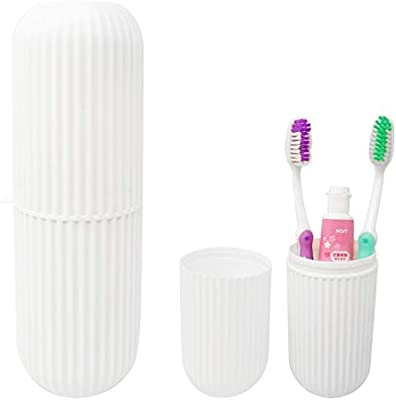 BG /_ Foreign Travel Toothbrush And Tooth Paste Storage Container Box Holder