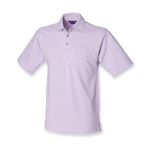 Henbury–Polo con cuello alto Lilac