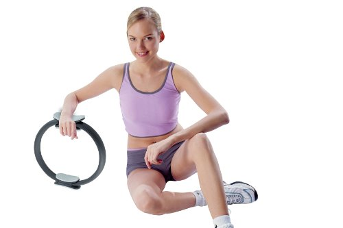 Toning Ring for Pilates and Contraction Exercises for Thighs, Hip, Waist, Abs, and More.