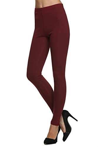 Meaneor Womens Footless Stretch Legging