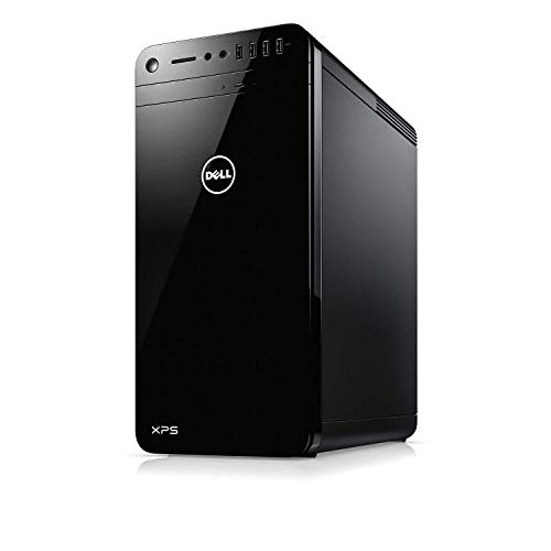Dell XPS 8930 Desktop PC – Intel Core i7-8700 3.2GHz, 16GB, 2TB HDD, GeForce GTX 1050Ti 4GB Graphics, DVDRW, Bluetooth, Windows 10 Home (Renewed)