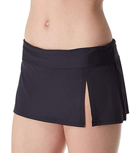 (Bleu Rod Beattie Women's Kore Skirted Hipster Bikini Bottom Black)