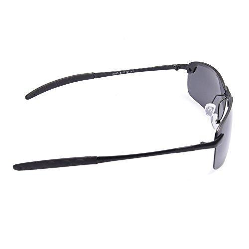 Black Lens Homme soleil JAKY de Lunettes Global Grey Frame Xwxzz8qI