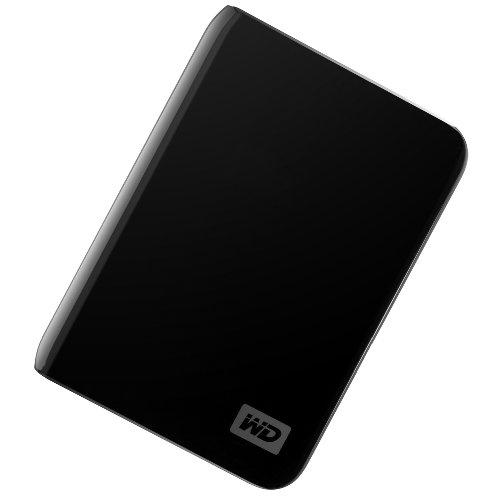 WD My Passport Essential 500 GB USB 2.0 Portable External Hard Drive (Midnight Black)