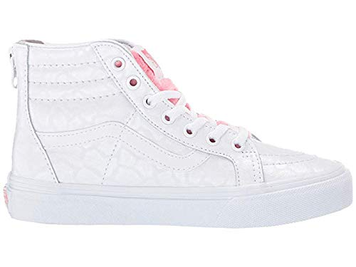 Vans Kids Baby Girl's Sk8-Hi Zip Toddler Snekaers (8.5 Toddler) -
