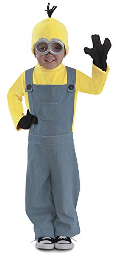 Princess Paradise Minions Kevin Child Jumpsuit Costume, Blue/Yellow, Medium