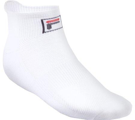 Fila Women's Low-Cut 2-Pack Socks-One Size-White