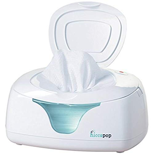 Wipe Warmer and Baby Wet Wipes Dispenser | Holder | Case with Changing Light