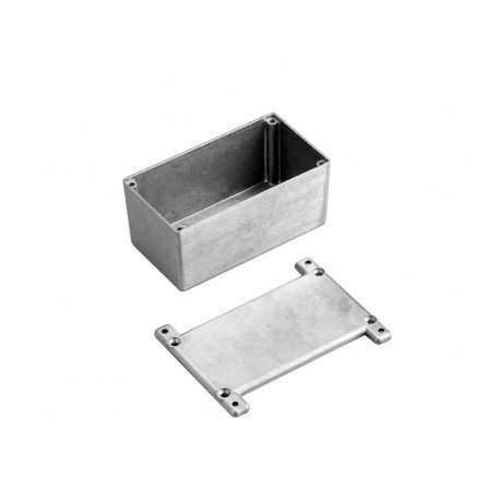 BUD Industries CU-5477 Die Cast Aluminum Econobox with Mounting Bracket Cover Natural Finish 7-3//8 Length x 4-11//16 Width x 1-1//2 Height 7-3//8 Length x 4-11//16 Width x 1-1//2 Height