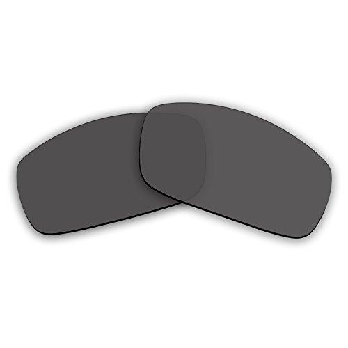 e9b46bf27a Polarized Replacement Sunglasses Lenses for Spy Optics Logan (Grey Mirror)