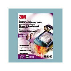 3M Transparency Film For Infrared Printers, Clear, 8 1/2in. x 10 1/2in., 4 Mil, Box Of 100 Sheets