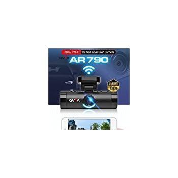 Lukas Qvia AR790 2Ch. Full HD Blackbox Dash Camera ADAS + FCWS + LDWS + FVSA + WDR + Night Vision + Wi-Fi (16GB MicroSD Card)