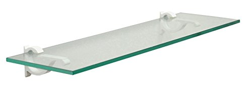 12 inch floating glass shelves - 6