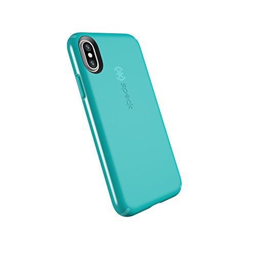Speck Products CandyShell Cell Phone Case for iPhone XS/iPhone X - Jewel Teal/Mykonos Blue