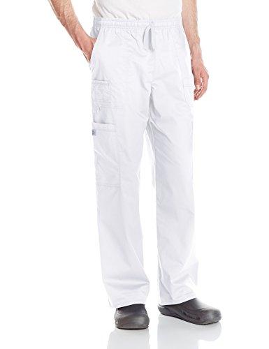 - Dickies Men's GenFlex Utility Drawstring Cargo Scrubs Pant, White, Large