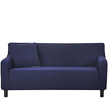 Amazon Com Colorbird Spandex Fabric Sofa Slipcovers Solid