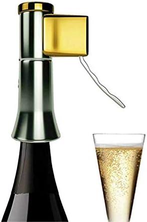 Descorjet® - Abridor de botellas de Cava o Champagne Destapador de Corchos para botellas de vinos espumantes, Saca corchos de espumante, ideal regalo o utensilio de cocina (Descorjet® Gold)